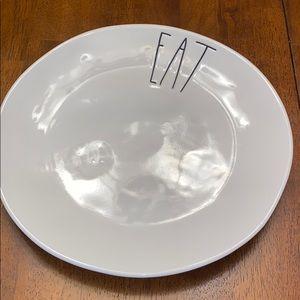 """""""Eat"""" Dinner Plate (Rae Dunn)"""